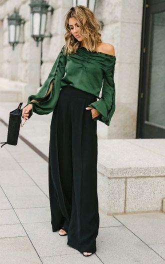 З чим носити у 2020 широкі штани: палаццо та кюлоти 2