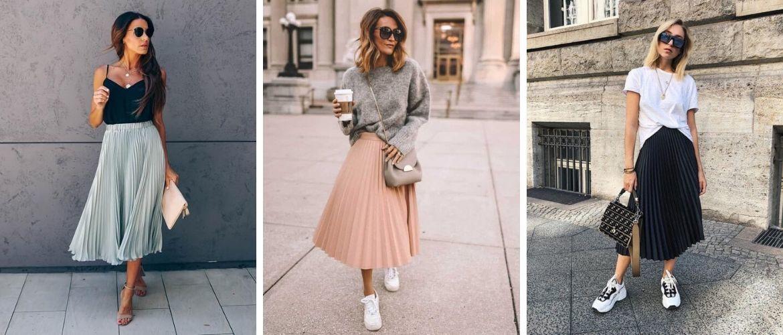 Плісирована спідниця: з чим носити та як поєднувати – стиль 2021
