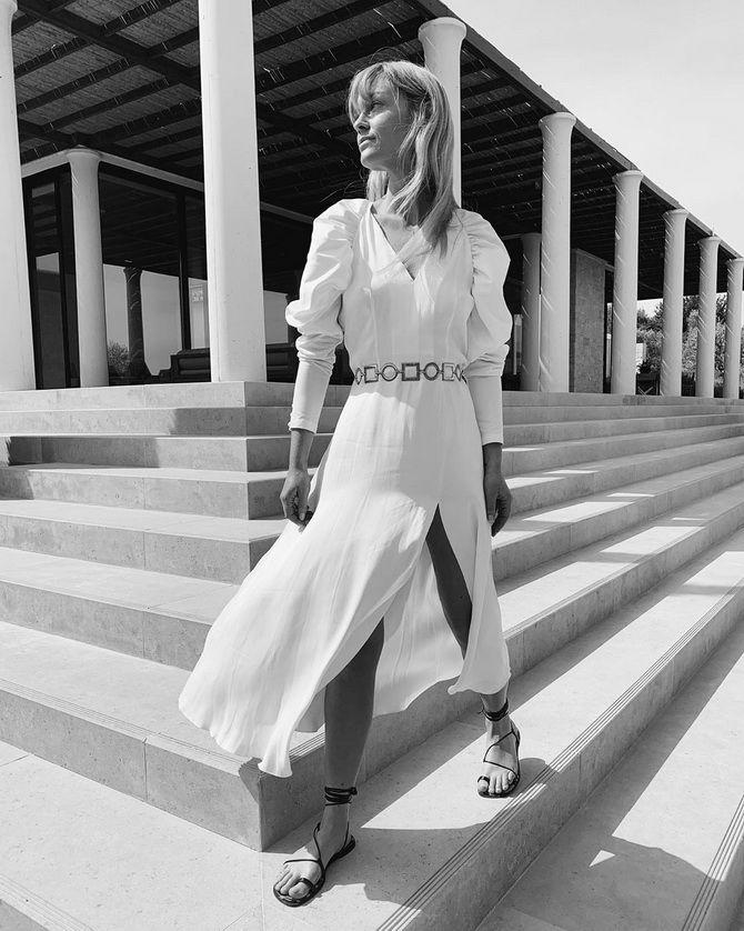 жіночі сукні з пишними рукавами