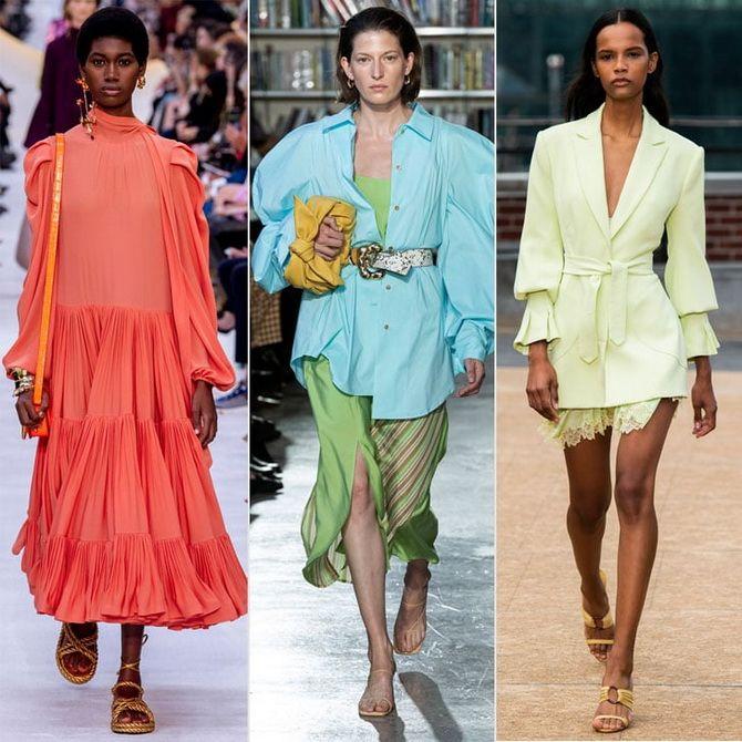 модные тренды лето 2020 женская
