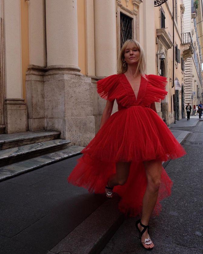 жіночі сукні з пишними рукавами 2020