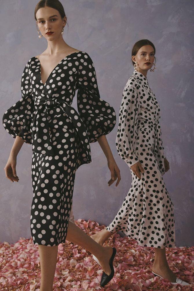 сукня в горошок 2020-2021