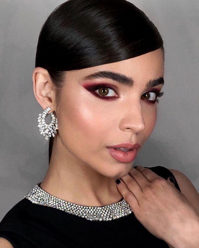 красивый макияж 2020 Для зеленых глаз