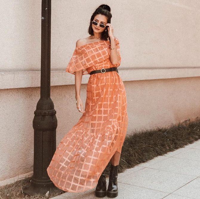 ніжна сукня з воланами 2020