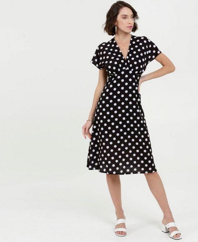 модні сукні в горошок 2020-2021