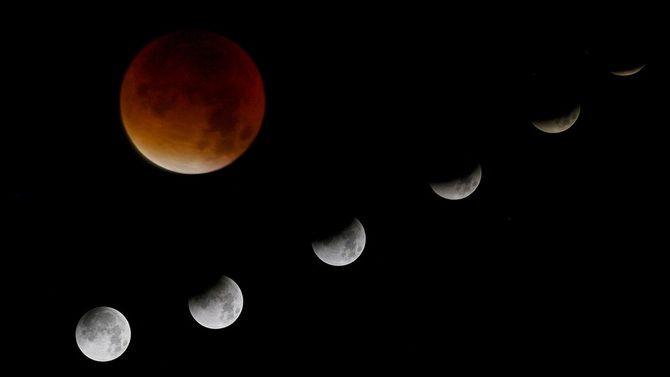 період місячного затемнення
