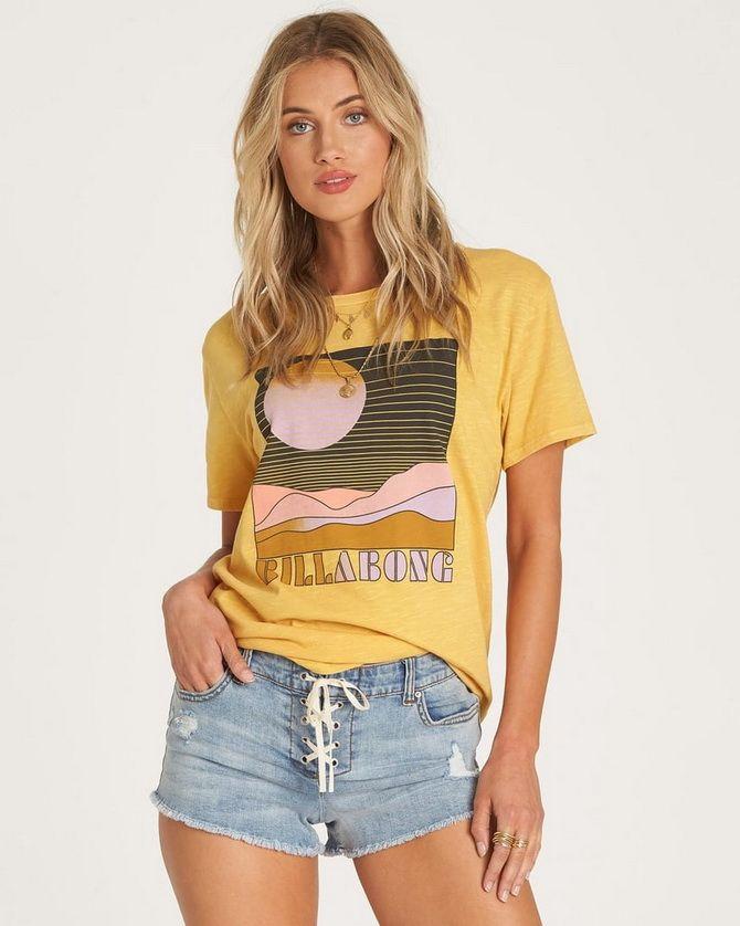 длинные футболки женские