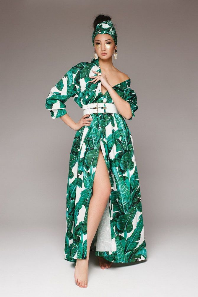 літня сукня з зеленню 2020