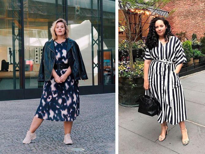 літні сукні для повних дівчат 2020-2021