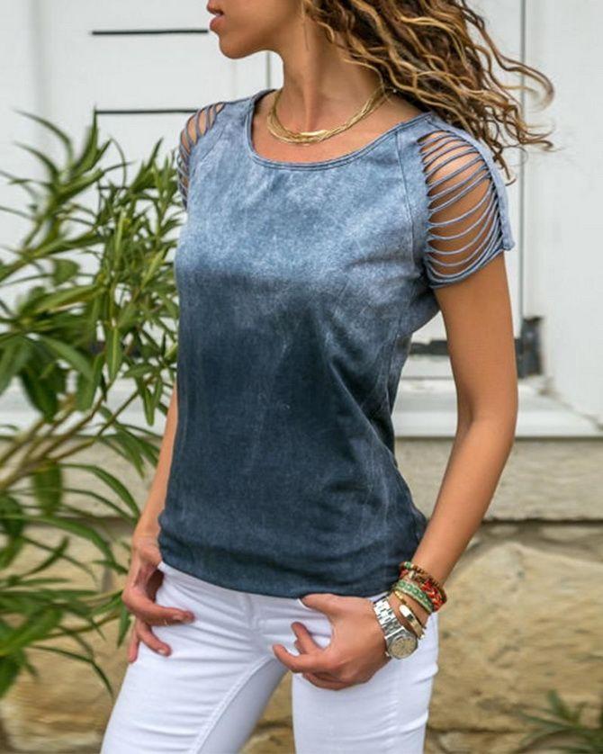 футболки женские стильные