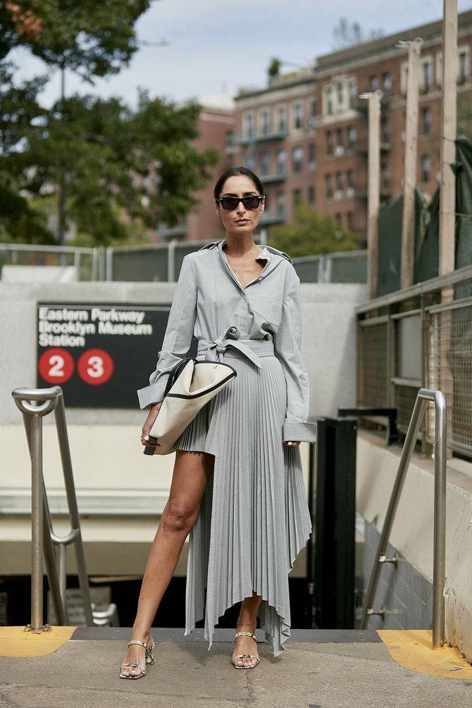 Асимметричные юбки 2020