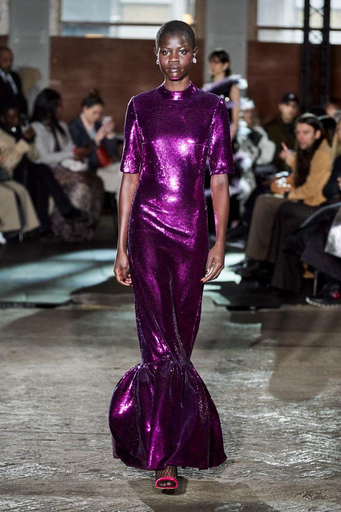 Вечірні сукні з воланами 2020