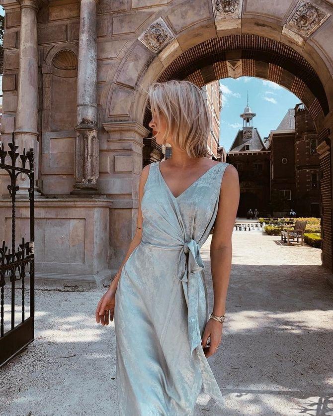 Модные платья с запахом 2020 2021