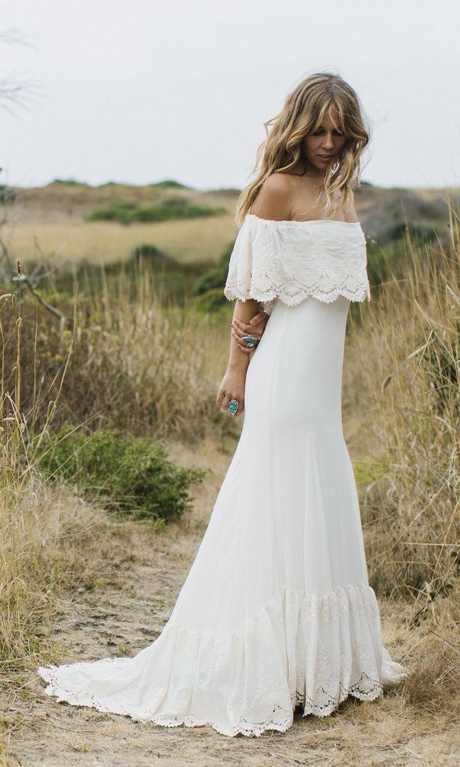 весільні сукні з воланами 2020