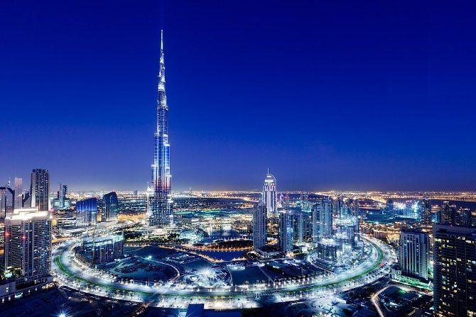 небоскреб Бурдж Халифа