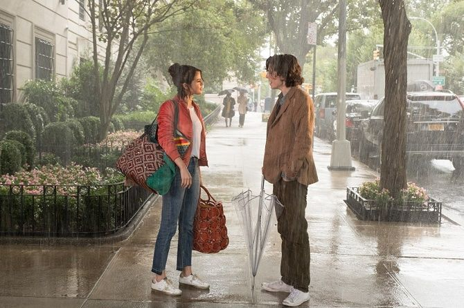 Дождливый день в Нью-Йорке, 2019