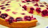 Вишуканий смак та тонкий аромат: рецепти приготування ніжних пирогів з вишнею
