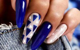 модные тенденции маникюра на длинные ногти 2020-2021
