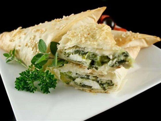 Хачапурі з сиром, сиром і зеленню