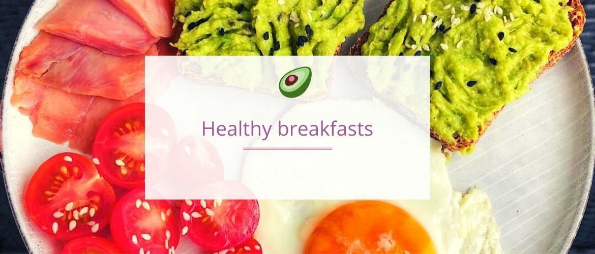 5 recipes of healthy breakfasts