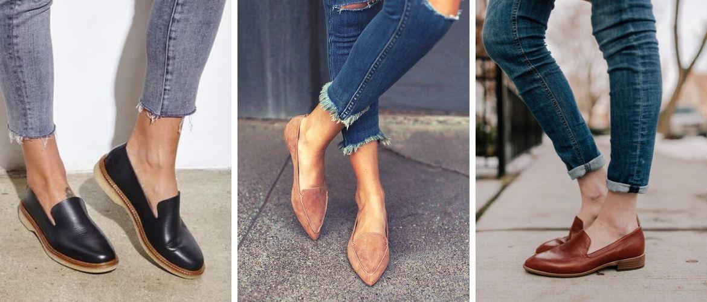 З чим носити жіночі лофери: модні тренди 2020 року