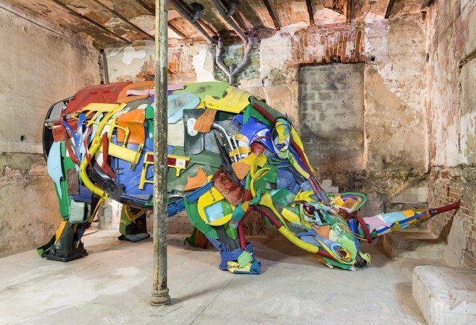 инсталяции носорог