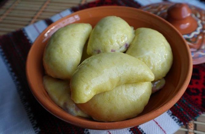 рецепт вареників на пару