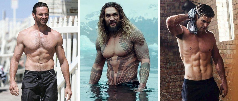 Топ-7 зіркових чоловіків з ідеальною фігурою, які претендують на звання секс-символів