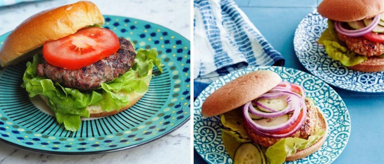 Рецепты здоровых гамбургеров