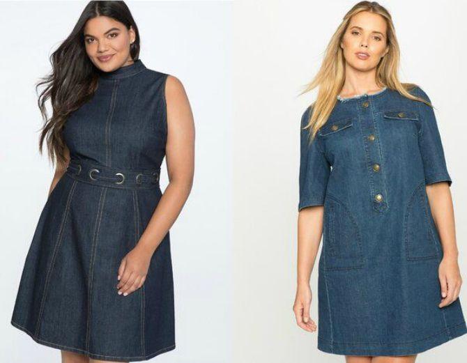 мода джинсовые платья 2020-2021