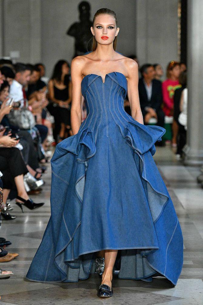 новинки джинсовых платьев