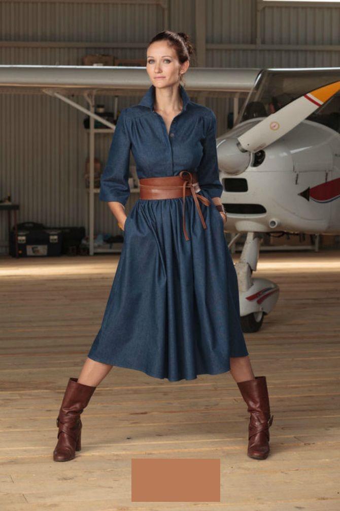 джинсовые платья 2020-2021