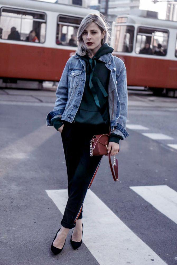 джоггеры женские с карманами