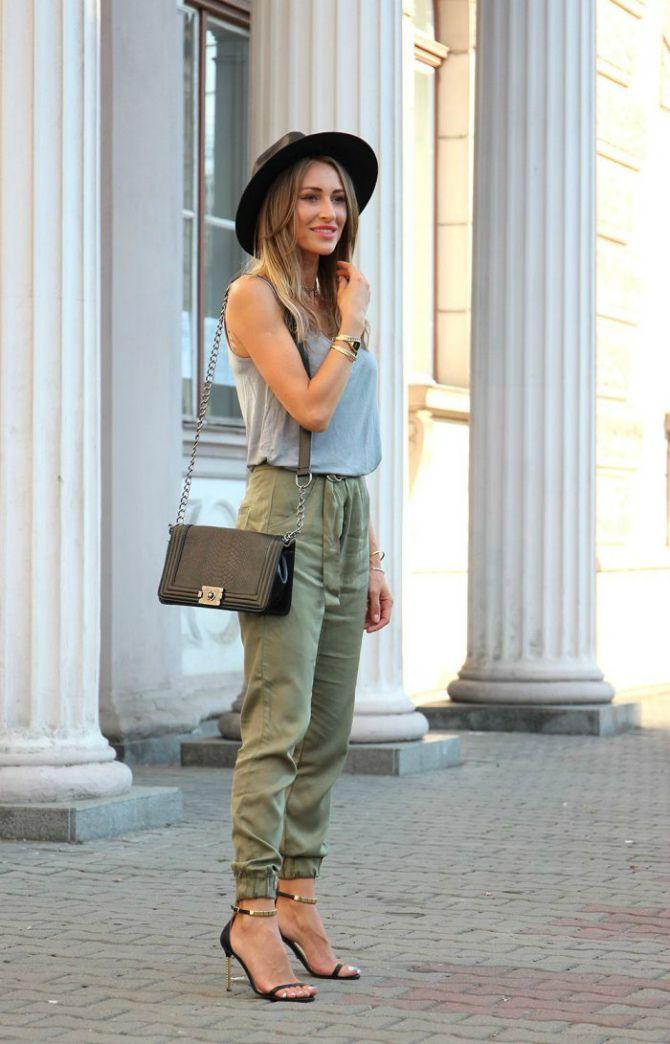 брюки легкие