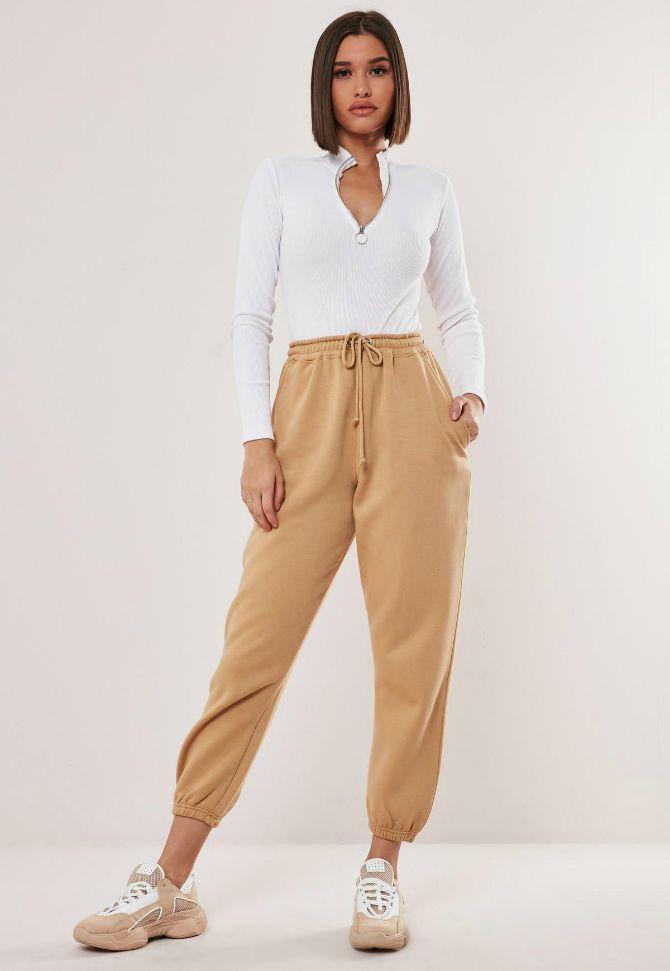 брюки джоггеры женские