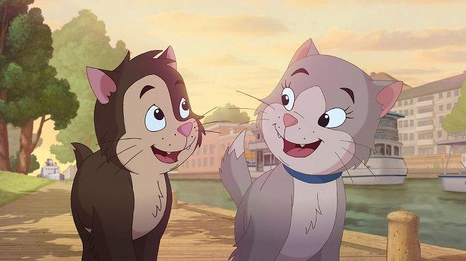Мультфильм Приключения котёнка Пелле