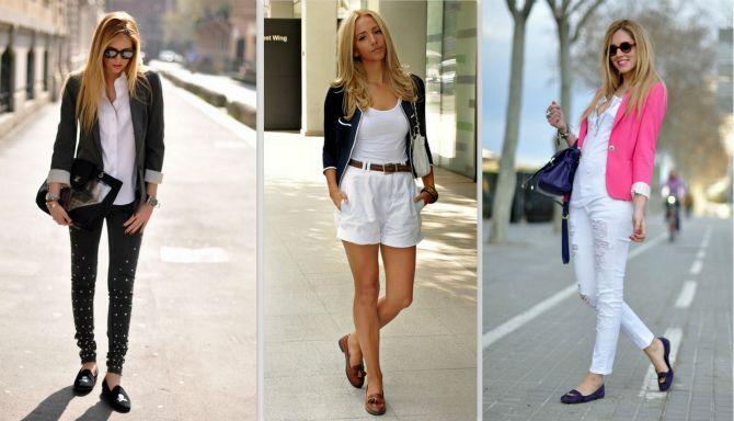 З чим носити жіночі лофери