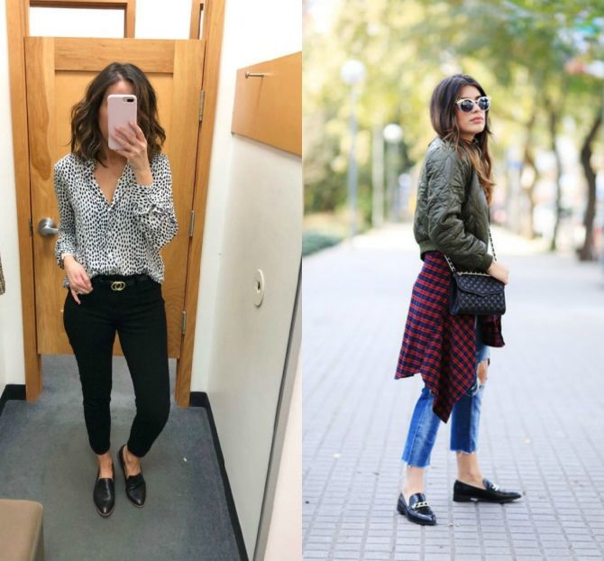 модные лоферы женские