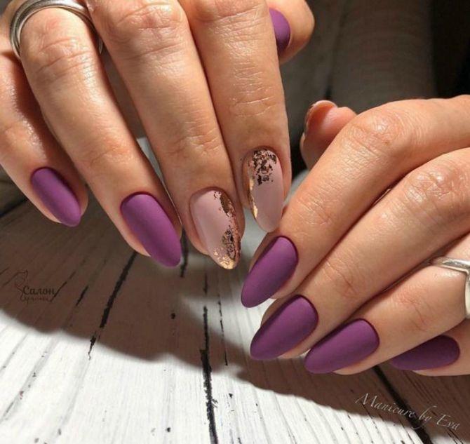 стильний манікюр на довгі нігті