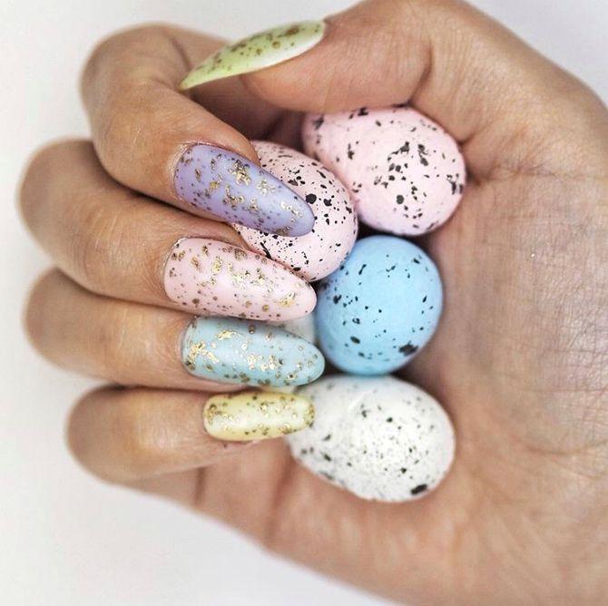 манікюр перепелині яйця 2020-2021