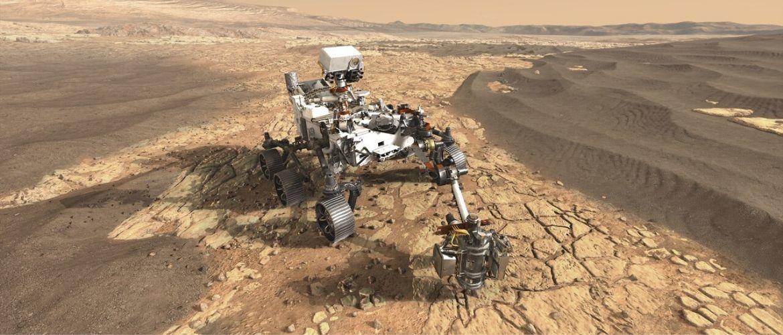 NASA показало марсоход нового поколения