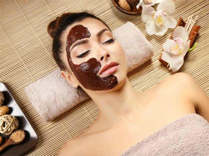Омолаживающая шоколадная маска для лица