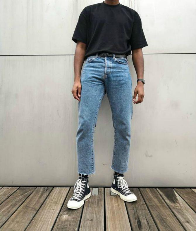 широкие джинсы мужские