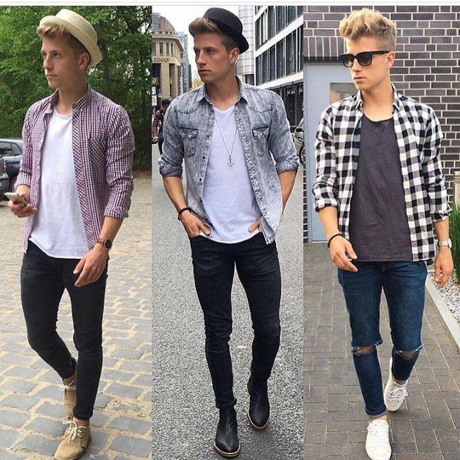 какие мужские джинсы