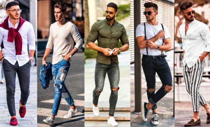 Трендові чоловічі джинси