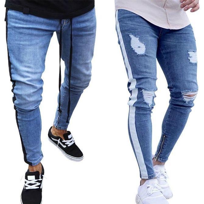 мужские джинсы рваные 2020