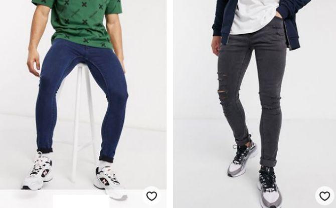 мужские джинсы летние