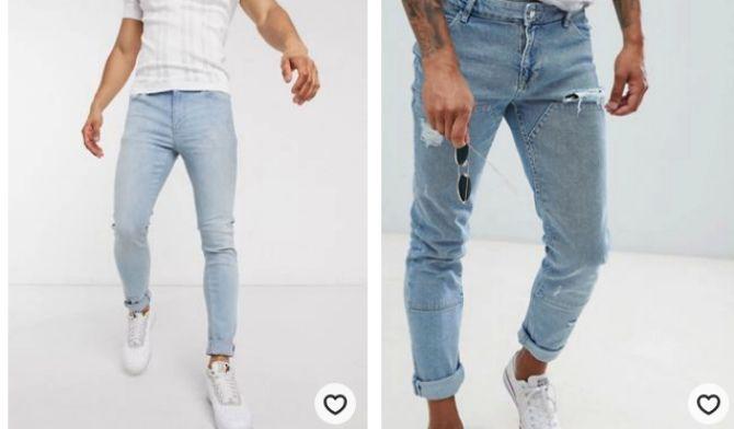 мужские джинсы 2020
