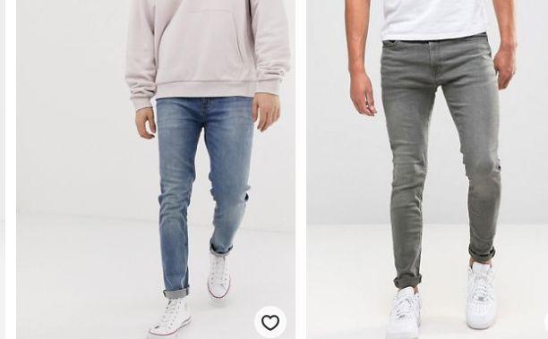 джинсы мужские зауженные 2020