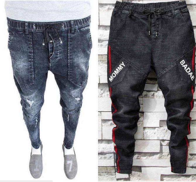 джоггеры джинсы